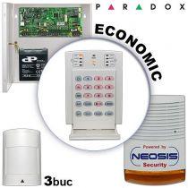 Sistem alarma cablat pentru apartamente PARADOX ECONOMIC