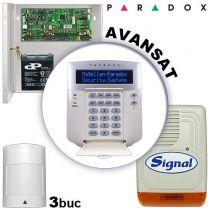 Sistem alarma cablat pentru apartamente PARADOX AVANSAT
