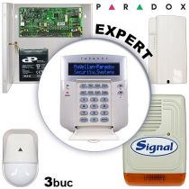 Sistem alarma cablat pentru apartamente PARADOX EXPERT