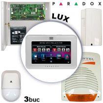 Sistem alarma cablat pentru apartamente PARADOX LUX