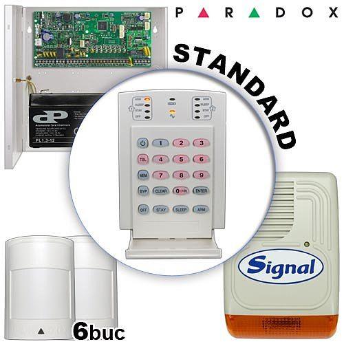 Sistem alarma cablat pentru case PARADOX STANDARD