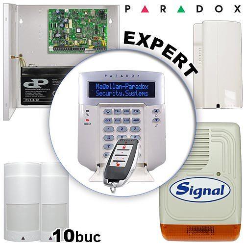 Sistem de alarma radio pentru vile - PARADOX EXPERT