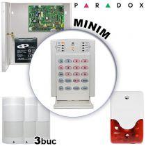 Sistem de alarma radio pentru apartamente - PARADOX MINIM