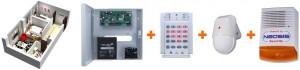 Sisteme alarma pentru garsoniere - cablate