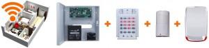 Sisteme alarma garsoniere - radio