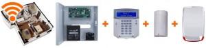 Sisteme alarma pentru apartamente - radio